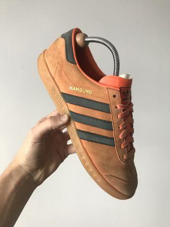 Крутые хайповые кроссовки Adidas Hamburg