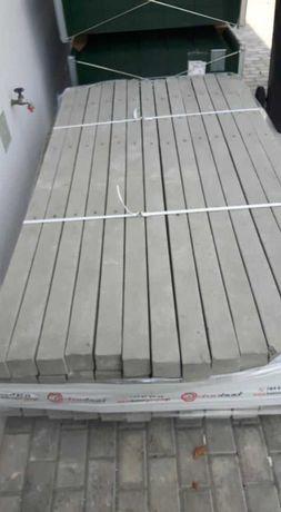 Słupki betonowe 2,2 mb do siatki leśnej
