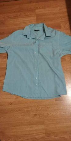 Koszula męska miętową