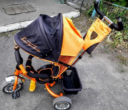 Трехколесный велосипед Azimut Lambortrike