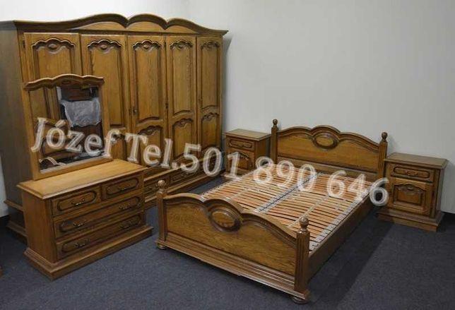 Wspaniała Sypialnia Dębowa / Łoże 200 lub 180