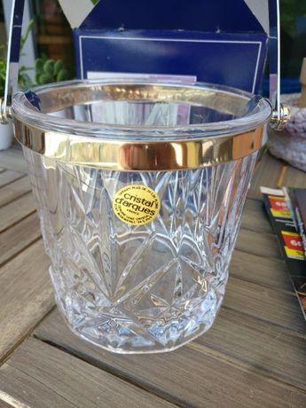 Excepcional balde gelo em cristal da Cristal D'Arques - Novo