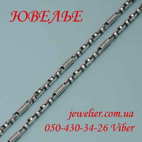 Цепочка серебряная литьевая ланцюжок срібний серебро срібло купить