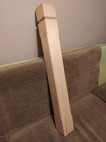 Drewniane (klejone) słupki, 5 sztuk