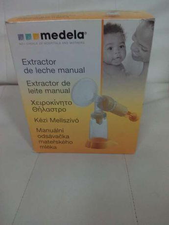 Extrator de leite manual medela