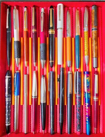22 canetas para coleção Aparo e Esferográficas todas em bom estado