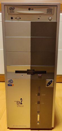 Komputer stacjonarny PC, Pentium4, Modecom, LG