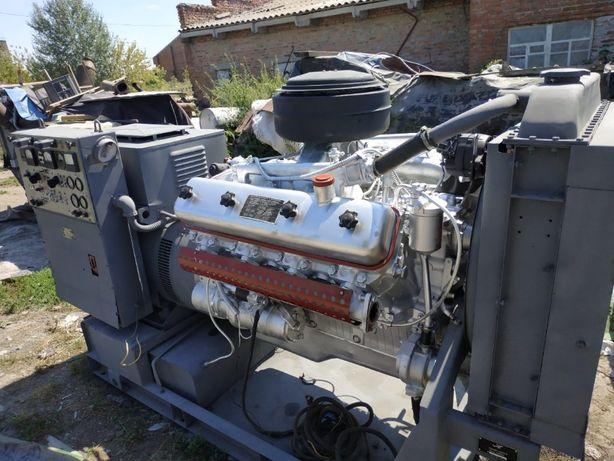 Дизель генератор 100кВт, Базовый двигатель ЯМЗ-238, Электростанция (д