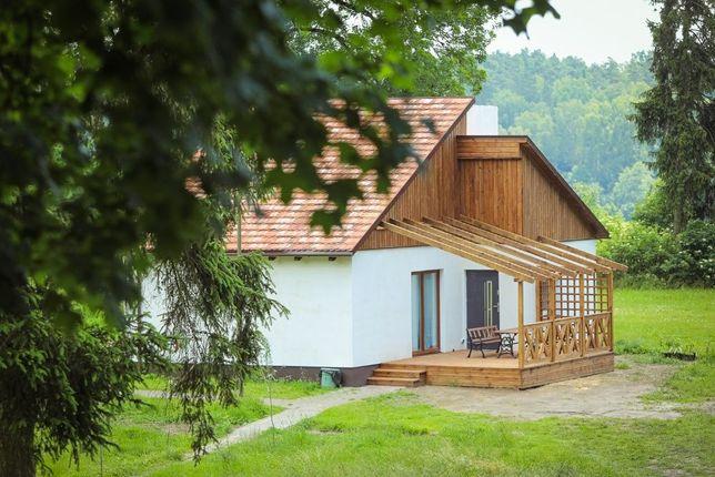 Domek wczasowy rekreacyjny koło Tleń, Bory Tucholskie