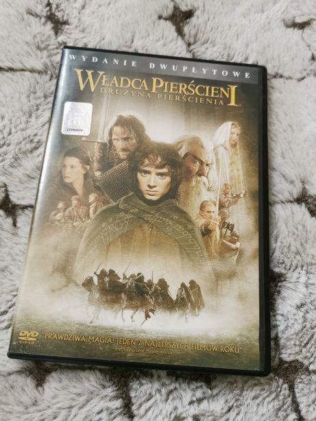 Władca Pierścieni Drużyna Pierścienia wydanie dwupłytowe dvd