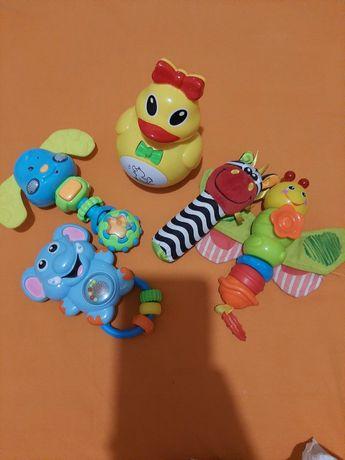 Погремушки грызунок пакет набор ращвивающих игрушет от рождения