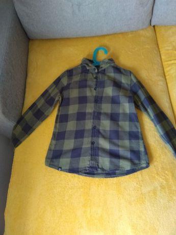 2 koszule chłopięce roz 134