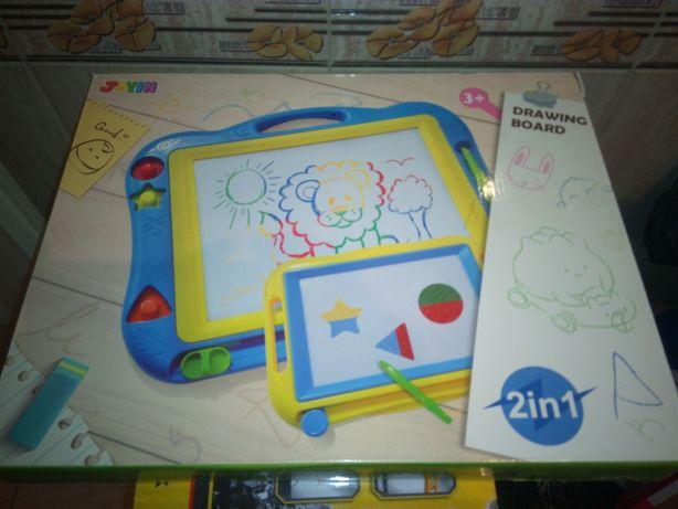 Magiczne tablice do rysowania dla dzieci kpl. 2szt Nowe