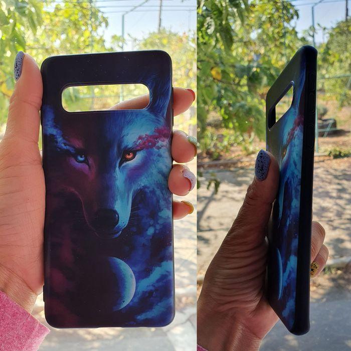 3D Чехол Волк на Samsung Galaxy S10 Первомайск - изображение 1