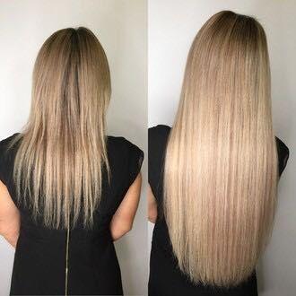 Афронаращивание волос,загущение