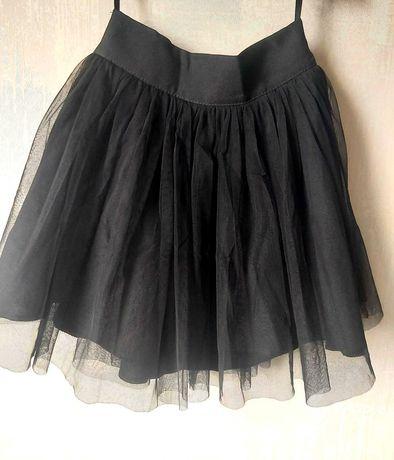 Нарядная черная,пышная юбка на девочку.