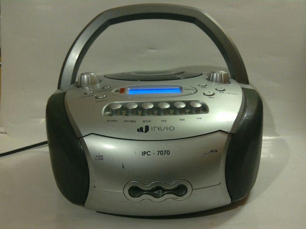Boombox INWIO DVD CD MP3 MP4 USB SD MMC radio z FM. Tanio !
