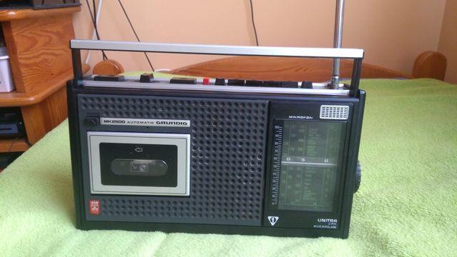 Radiomagnetofon Grundig Mk2500 Unitra zabytek