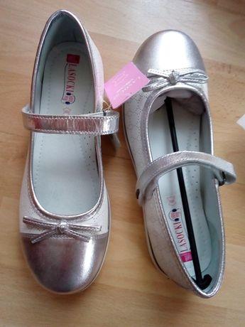 Skórzane balerinki Lasocki 36 nowe wkładka 23,3 cm