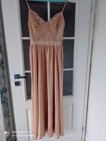 Długa sukienka okolicznościowa