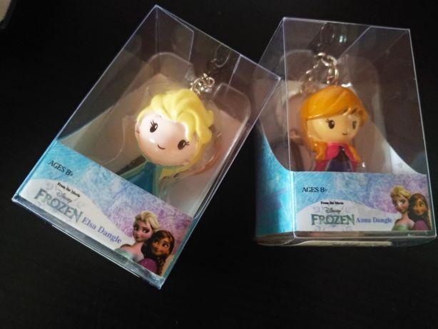 Oferta Portes | 2 Miniaturas Elsa e Anna, Frozen, bonecas porta-chaves