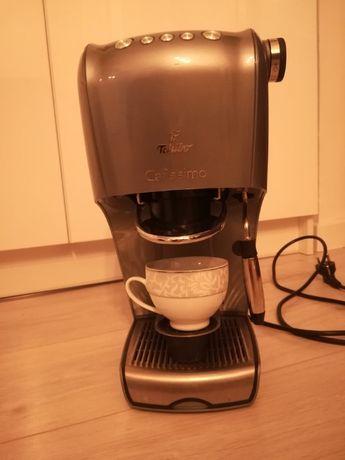 ekspres do kawy tchibo cafissimo srebrny