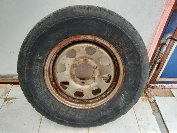 Jante Jipe 16 pneu pirelli