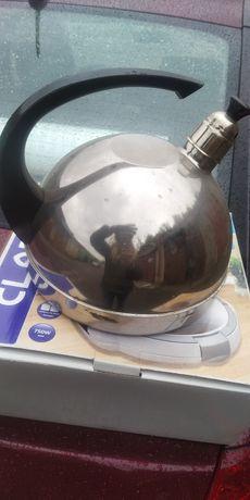 Новий чайник з нержавійки