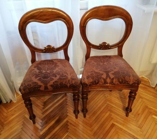 Комплект из 2-х антикварных стульев