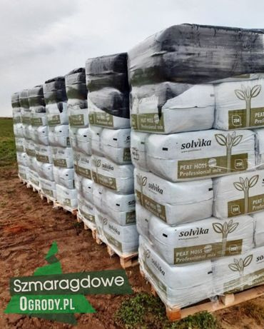 Torf odkwaszony 250l pH 5,5-6,5 substrat z nawozem pod warzywa trawnik