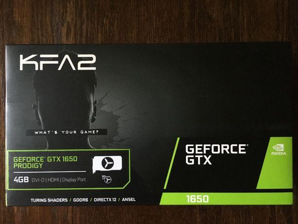 Видеокарта KFA2 GeForce® GTX 1650 4GB GDDR6 Prodigy 12800