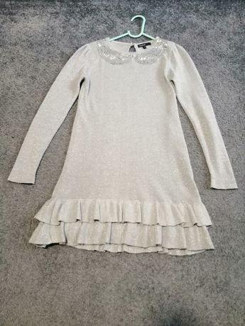 Śliczna wizytowa sukienka 9-10 lat