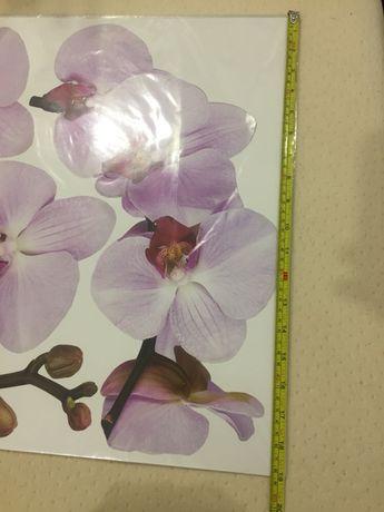 Декор стен Орхидея  2шт