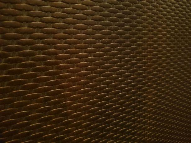 Ротанг искусственный панели 2600*360*10мм Орех темный