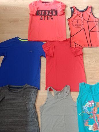 Koszulki sportowe chłopięce