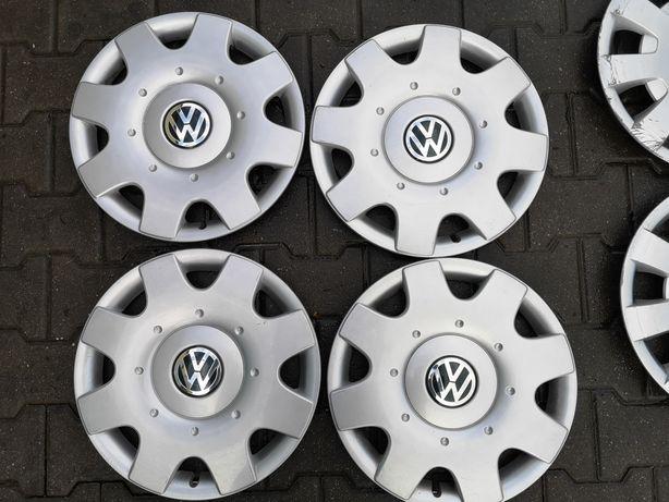 Kołpaki komplet Volkswagen 16 cali oryginał piękne jak nowe 6