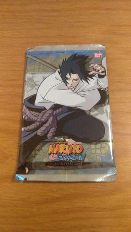 Naruto cartas booster selado raro