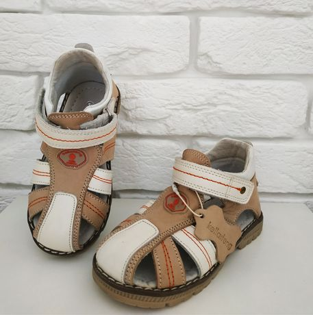 Босоножки сандалии в садик. Кожа! Ортопедические! 23, 24 размеры
