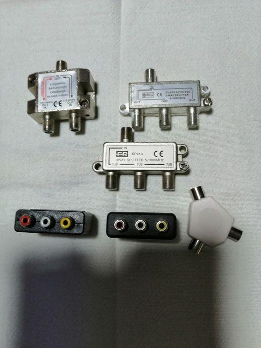 Vários conectores de TV Santo António da Charneca - imagem 1