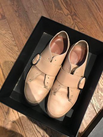 Buty skórzane Maxmara rozmiar 41