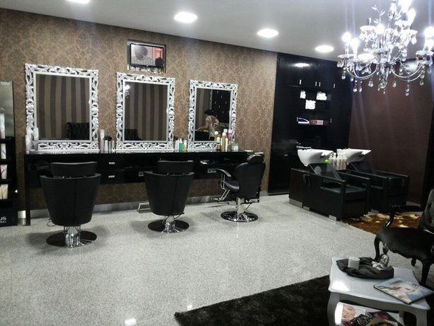 Bancadas espelhas de cabeleireiro Armazem preços revenda