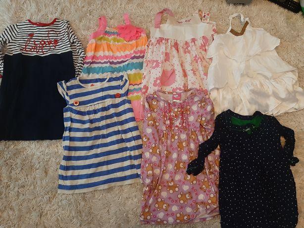 Sukienki dziecięce, dziewczęce rozm 98-104 7sz OKAZJA