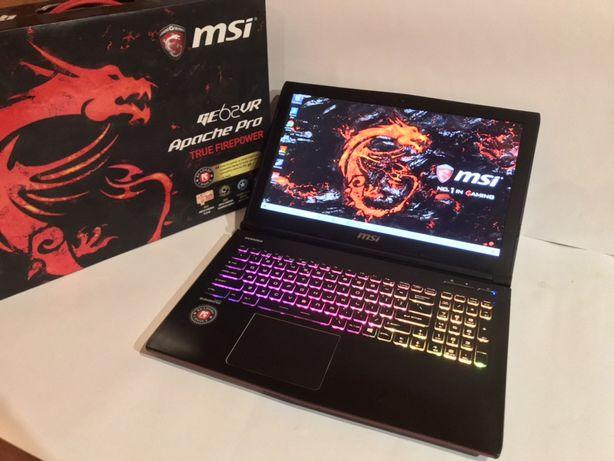 ТОП!Геймерский ноутбук MSI Apache(IPS/i7-7700/GTX 1060-6/SSD+HDD/16GB)