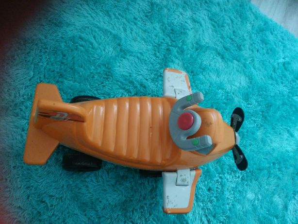 Samolot jezdzik pchacz swieci gra