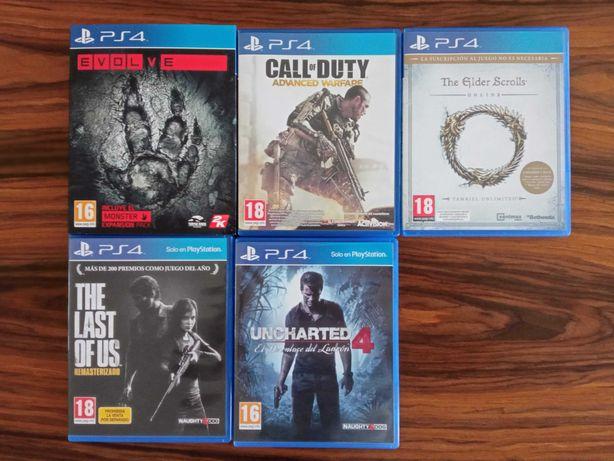 Jogos Playstation PS3 / PS4 / PSP