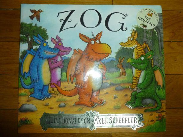 """English. Детская книга на английском языке """"ZOG"""""""