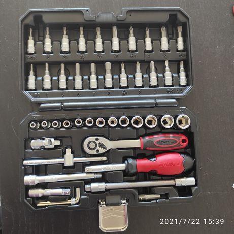 Caixa/mala ferramentas 46 peças
