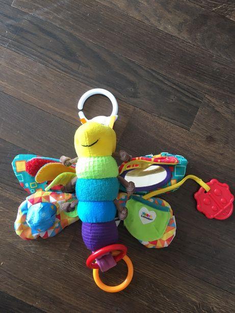 Lamaze zabawka sensoryczna /zawieszka do wózka Motyl