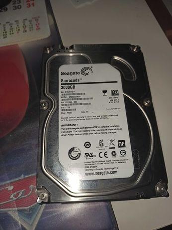 Disco Rigido HDD 3000Gb 3TB Seagate Barracuda - NAS ou backups