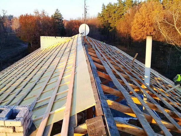 Кровельные работы.Устранение затеканий на любой крыше.Ремонт крыши.